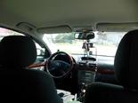 Автобус Барнаул-Толмачёво? Тёмно-зелёная пассажирская Тойота! Салон, передние сиденья.