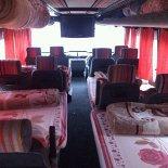 Автобус Москва-Махачкала Дербент. Спальные места