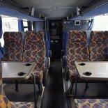 Автобус Москва-Махачкала Дербент. Столы