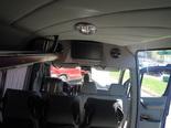 Раздельный кондиционер на каждого пассажира, откидные сиденья со столиками, TV/DVD, полки сверху под ручную кладь
