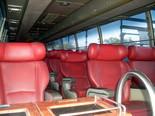 Салон междугороднего автобуса Оренбург - Уфа
