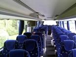 Комфортабельный салон автобуса из Дрездена в Грозный