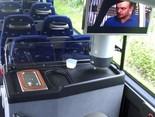 ТВ, биотуалет, кондиционер и чайник в автобусе Дрезден - Грозный